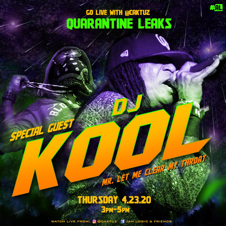 Caktuz Set To Go Live w/ Rap/Go-Go Legend DJ Kool